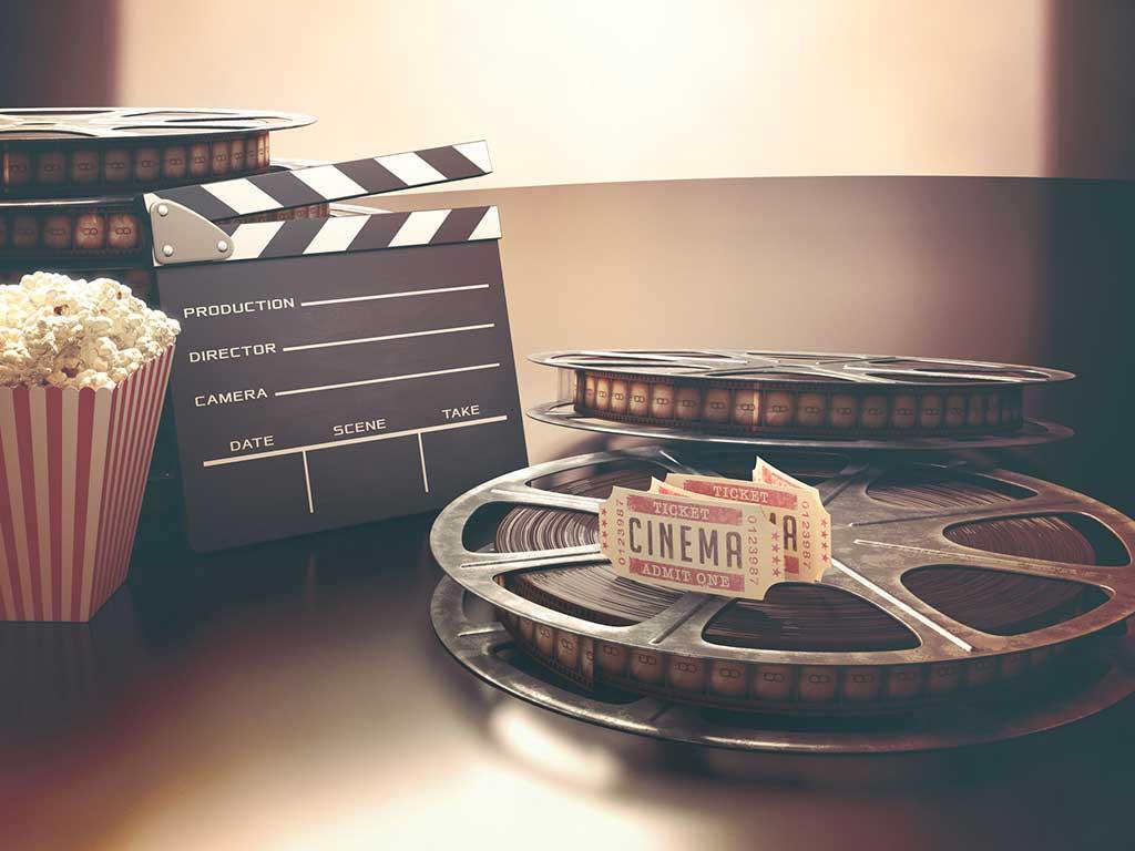סוכות של סרטים והצגות בצפון